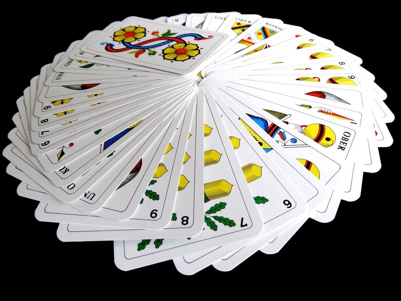 Kartenspiel Allein