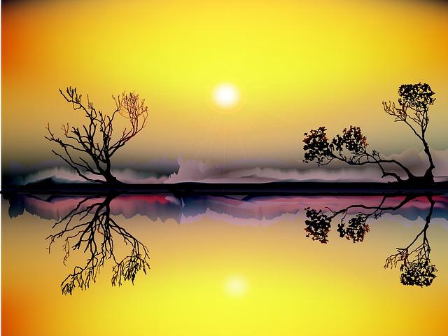 https://pixabay.com/de/landschaft-sonnenuntergang-fluss-982178/