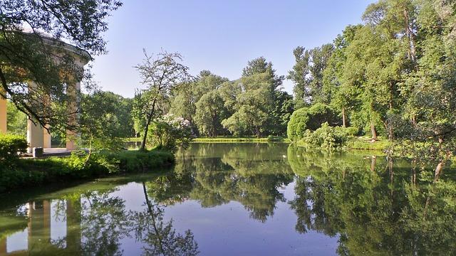 https://pixabay.com/de/park-parks-b%C3%A4ume-teich-himmel-142778/