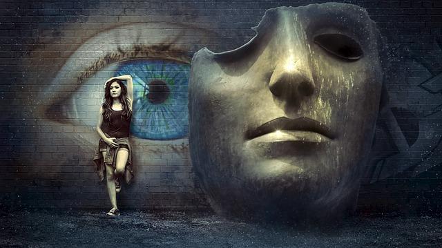 https://pixabay.com/de/fantasy-surreal-maske-wand-auge-2506830/