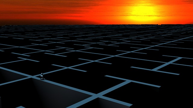 https://pixabay.com/de/labyrinth-verloren-sonnenuntergang-772502/