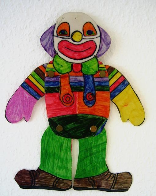 https://pixabay.com/de/clown-zeichnung-kinderzeichnung-76526/