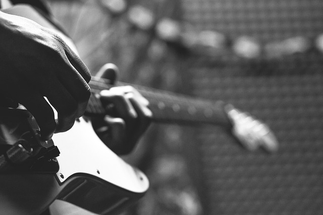 https://pixabay.com/de/gitarrist-b%C3%BChne-karte-musiker-1739367/