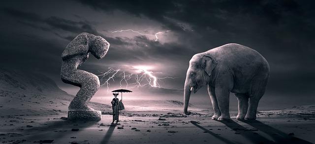 https://pixabay.com/photos/fantasy-surreal-scene-elephant-3988020/