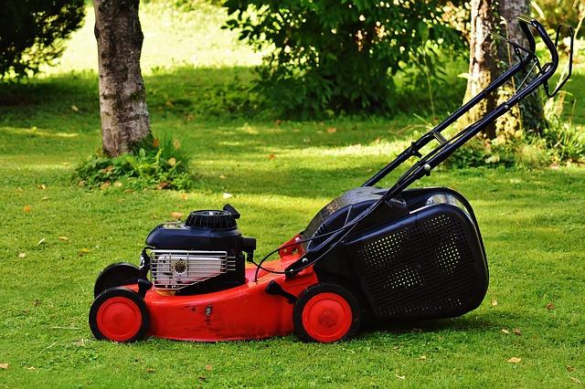 https://pixabay.com/photos/lawn-mower-gardening-mow-cut-grass-1593898/