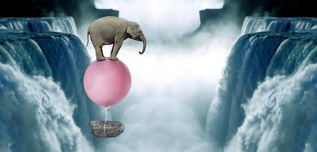 https://pixabay.com/de/photos/elefant-rosa-ballon-kunst-surreal-5266098/