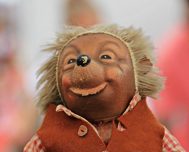 https://pixabay.com/photos/mecki-hedgehog-toys-doll-figure-1576095/