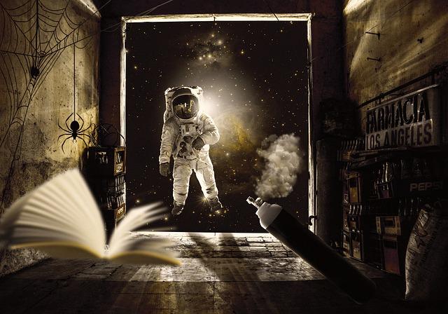 https://pixabay.com/de/photos/astronaut-raum-zimmer-galaxis-6467441/
